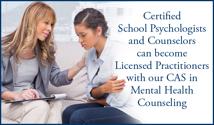 Certificate Of Advanced Study In Mental Health Counseling CITE