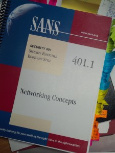 SANS SEC 401 Networking Concepts