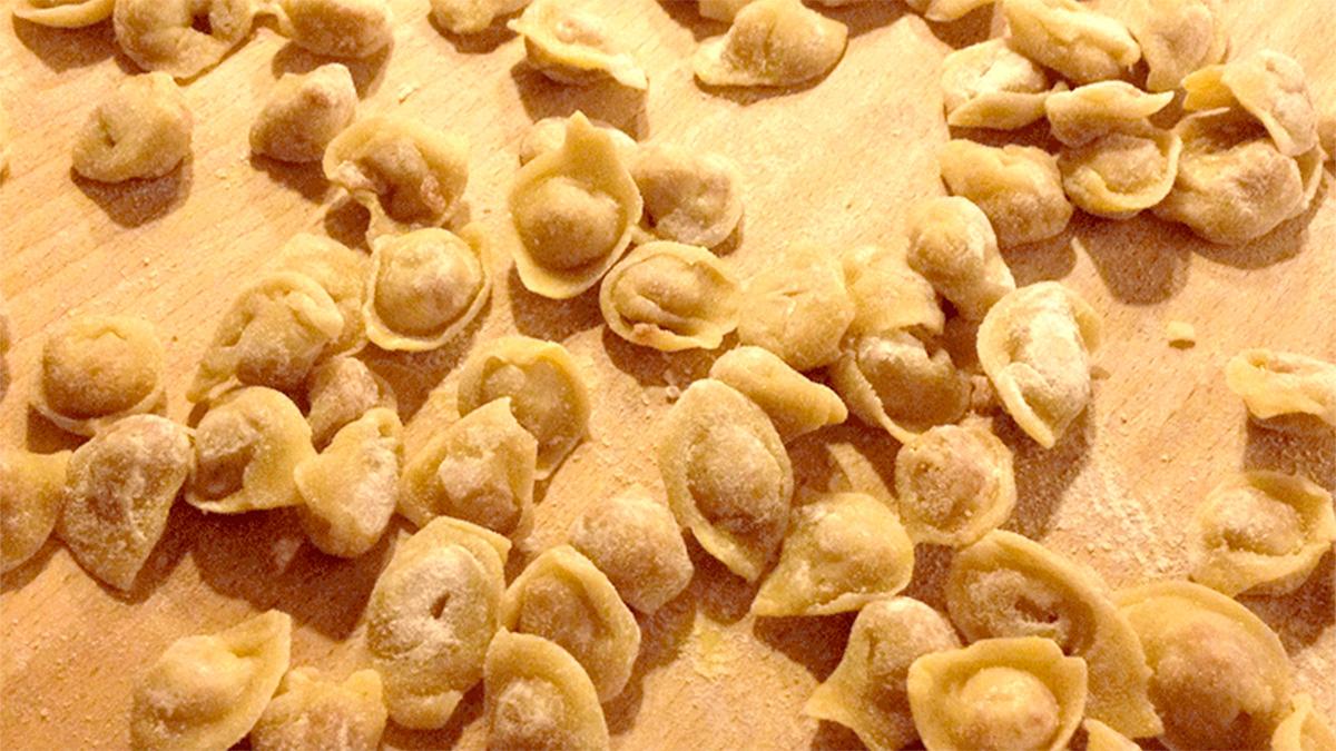 Cappelletti all'uso di Romagna