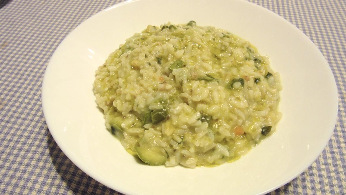 Riso e verdure