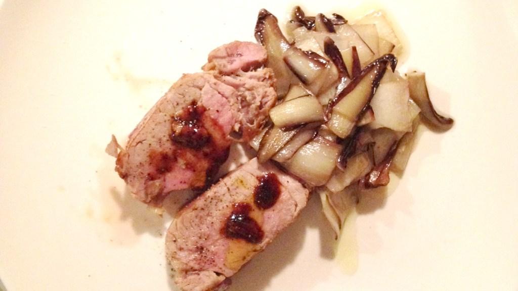 Filetto di maiale e radicchio trevigiano