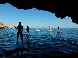 Stand up paddling Algarve