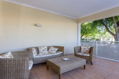 Excellent ground-floor apartment in Vilamoura for rent