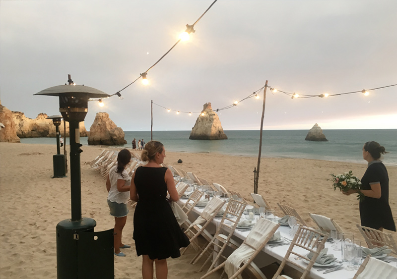 wedding chair hire algarve folding officeworks weddings in portugal equipment for the