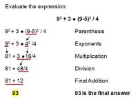 All Worksheets  Order Of Operations And Evaluating