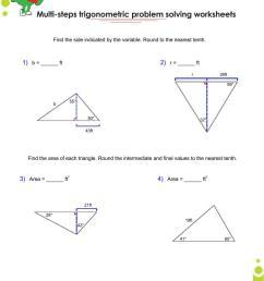 Basics trigonometry problems and answers pdf for grade 10 [ 1100 x 850 Pixel ]