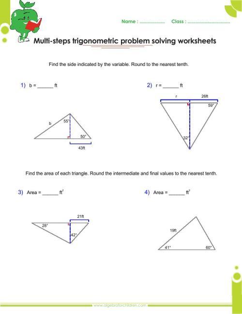 small resolution of Basics trigonometry problems and answers pdf for grade 10