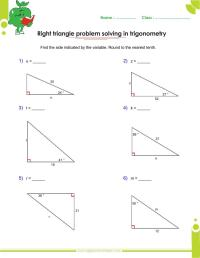 Trigonometry Worksheet Answers Free Worksheets Library ...