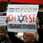 A Boycott, Divestment and Sanctions (BDS) protest against Israel. Photo: Wikimedia Commons.