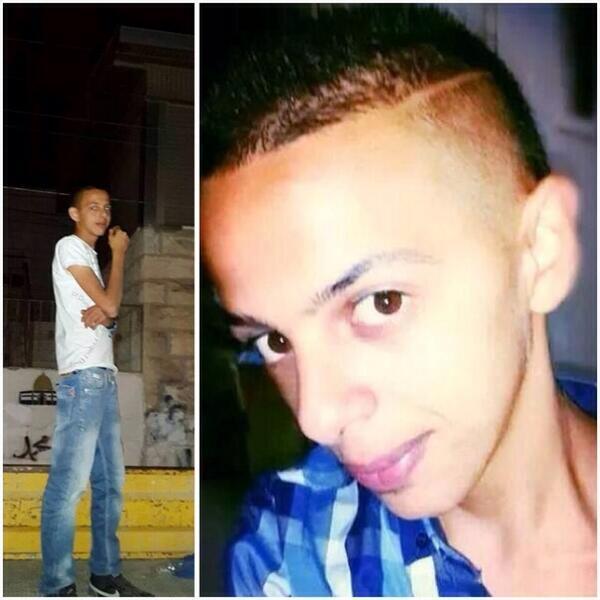 16-year-old murder victim Muhammad Abu Khudair. Photo: Twitter.