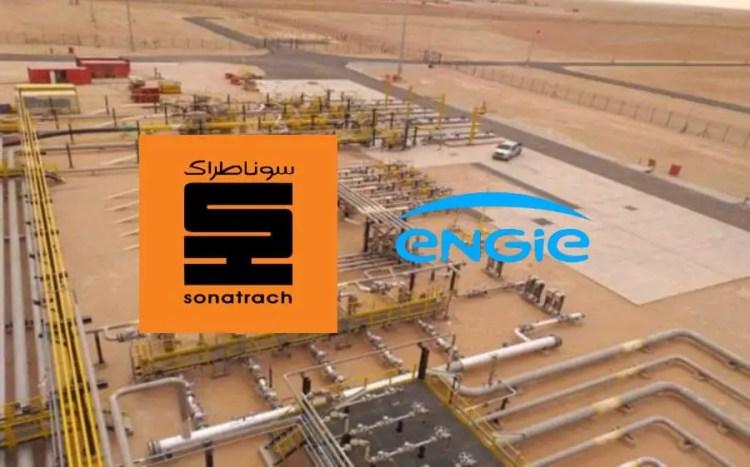 Approvisionnement en gaz : Signature d'accords entre Sonatrach et le français ENGIE