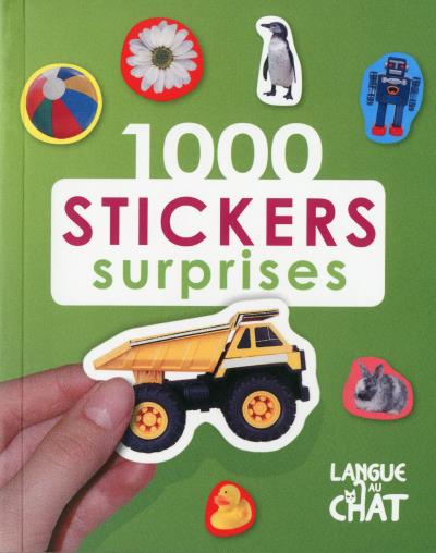 1000 stickers surprises