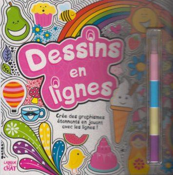 Dessins en lignes Crée des graphismes étonnants en jouant avec les lignes
