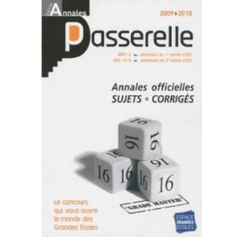 Annales 2009-2010 annales atout+3 concours 2009, sujets et corrigés