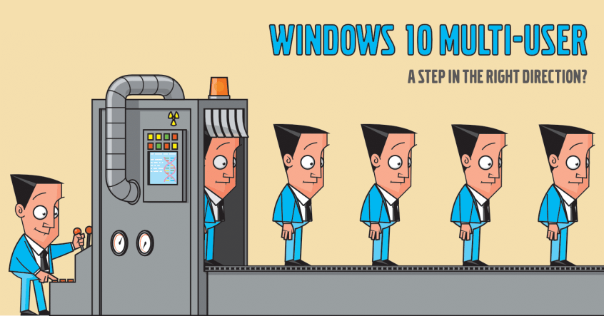 Windows 10 multi-user