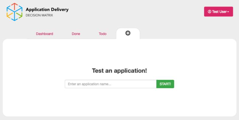 Click Plus to start testing