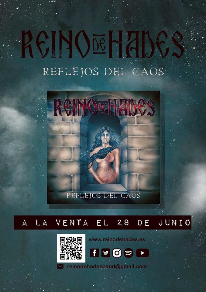 REINO DE HADES presenta «Barbanegra» nuevo videolyric perteneciente a su próximo disco