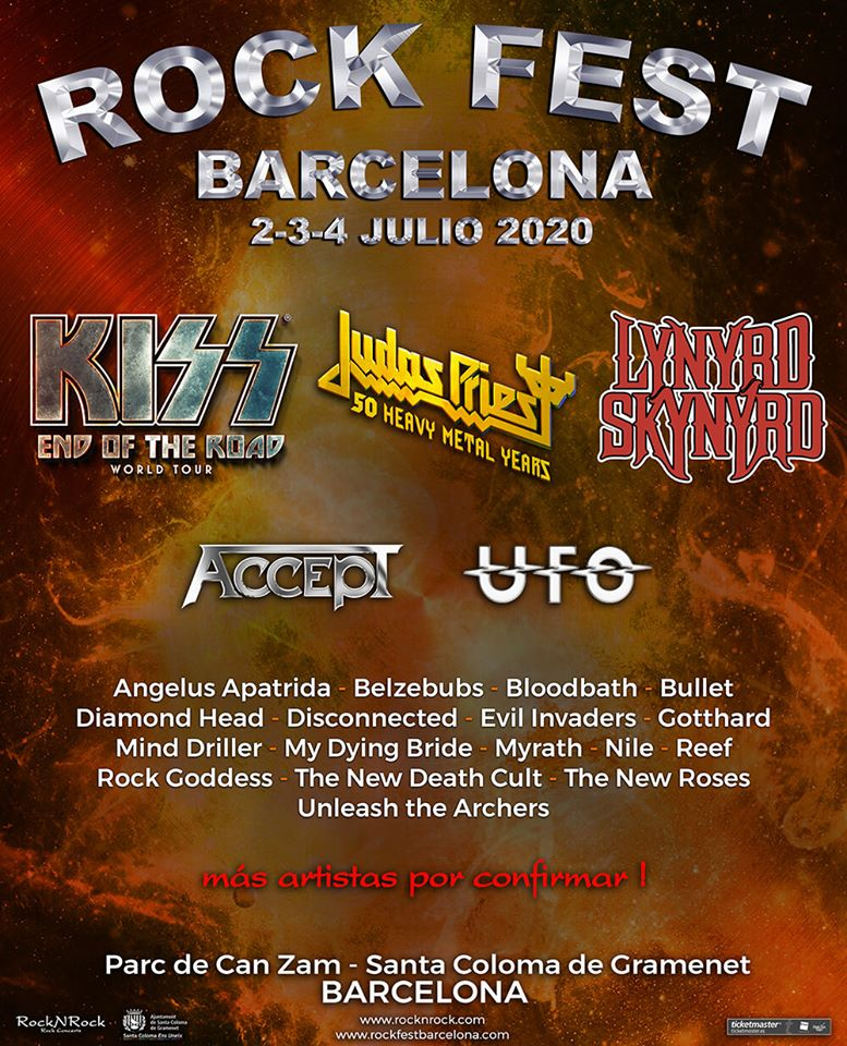 ROCK FEST BARCELONA – 2, 3 Y 4 DE JULIO 2020
