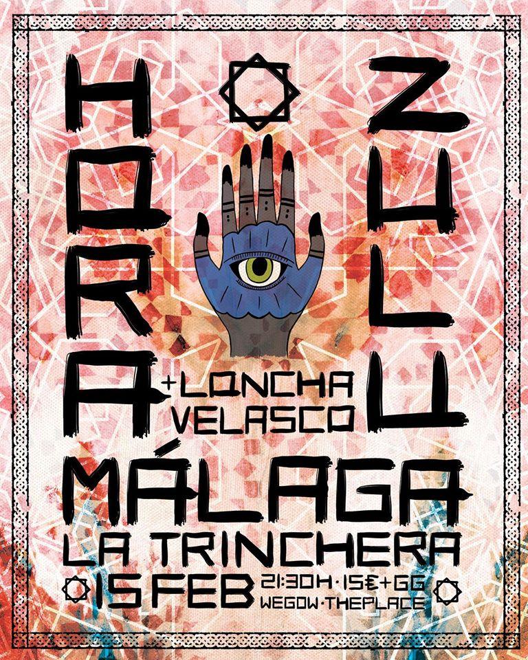 [Crónica] Hora Zulú + Loncha Velasco – 15 de febrero Málaga (Sala La Trinchera)