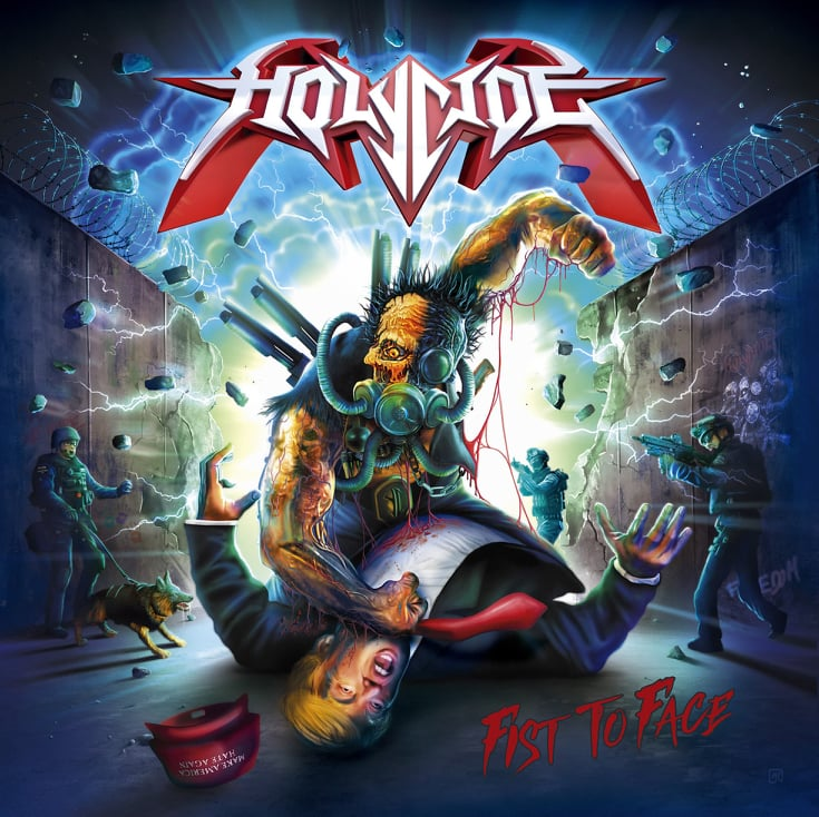 [Entrevista] Holycide – Nuevo disco «Fist To Face»