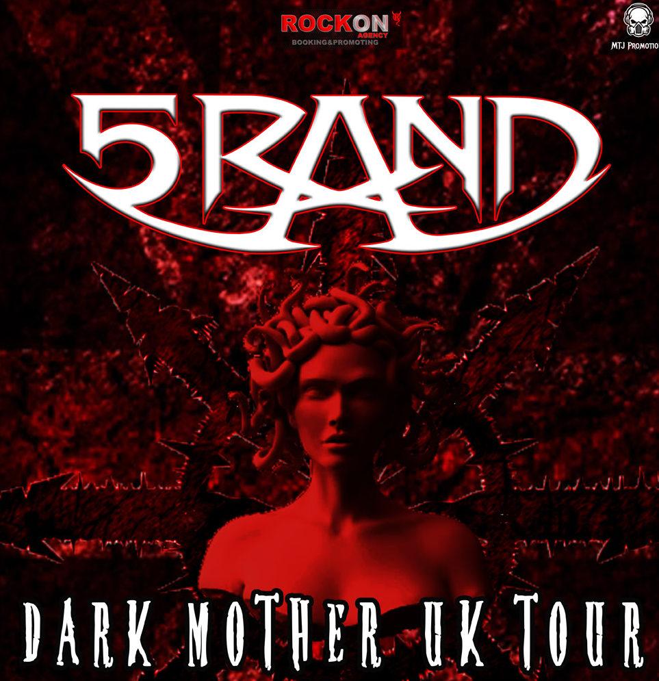 5RAND anuncia las fechas de su gira por Reino Unido