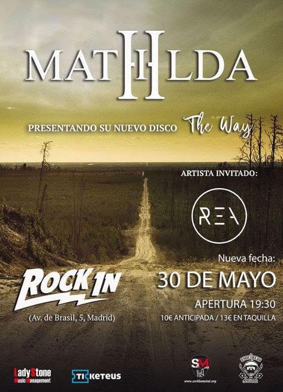 Mathilda presentará su nuevo disco en Madrid el 30 de mayo