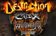 Destruction + Crisix + Warbringer + Domination Inc. – Nuevas fechas de su gira por España