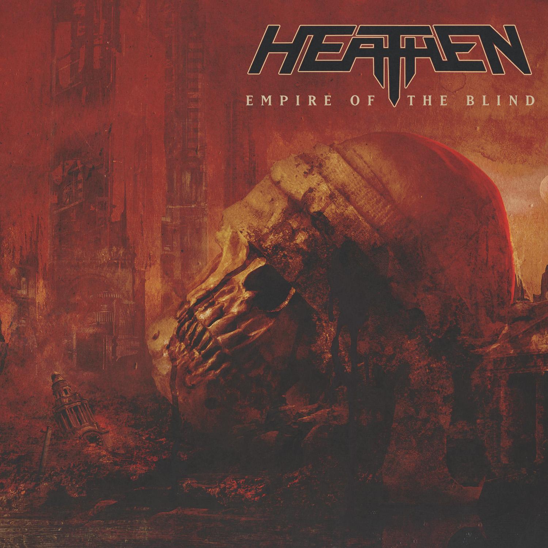 Heathen anuncia nuevo disco «Empire Of The Blind»
