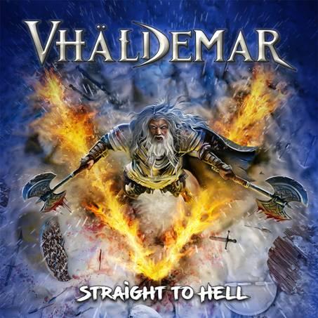 VHÄLDEMAR: Nuevo single – Portada y tracklist de su nuevo álbum «Straight To Hell»