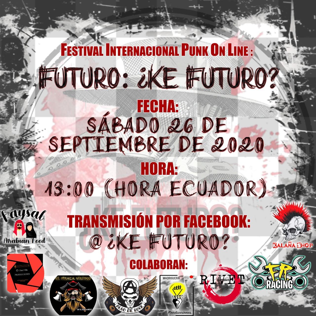 Festival Internacional Punk Futruro: ¿Ke Futuro?