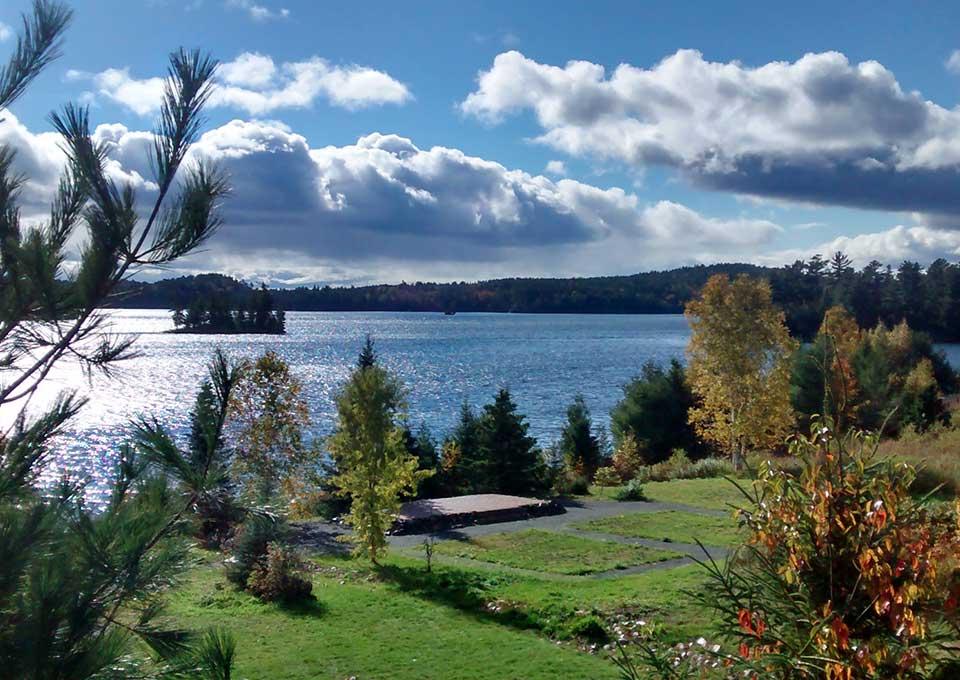 Dunlop Lake Lodge Elliot Lake Northern Ontario Canada