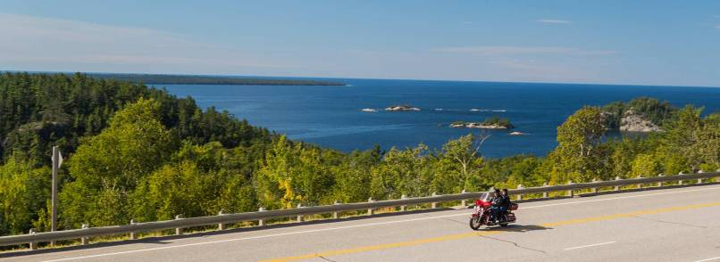 Motorcycle Touring In Algoma Northern