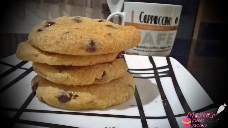 Mega-cookies en microondas