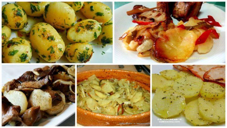 5 recetas de guarniciones de patata