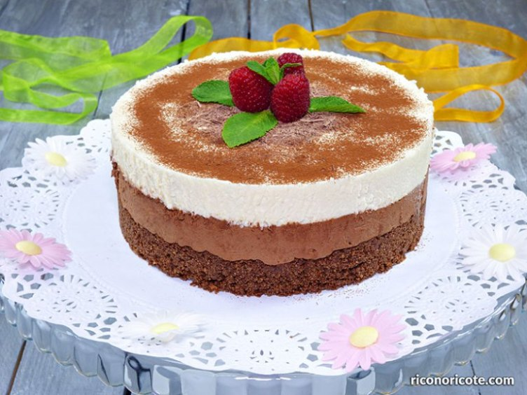 Tarta mousse doble chocolate