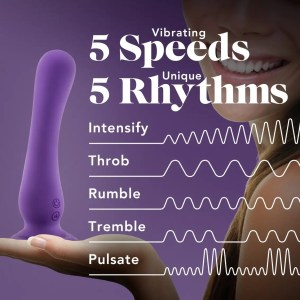 Impressions N4 Rechargeable Silicone Vibrator