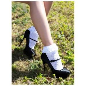 Lei Lace Ankle Socks by Leg Avenue