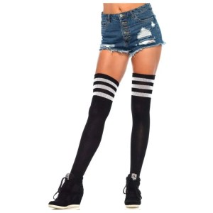 Gina Athletic Thigh High Stockings by Leg Avenue