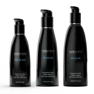 Wicked Aqua Fragrance Free Personal Lubricant