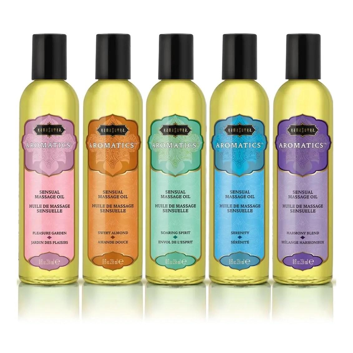 Kama Sutra Aromatic Massage Oil 8oz