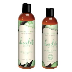 Intimate Earth – Natural Flavors Glide Personal Lubricant - Chocolate Mint