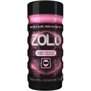 Zolo Deep Throat Cup Textured Masturbator