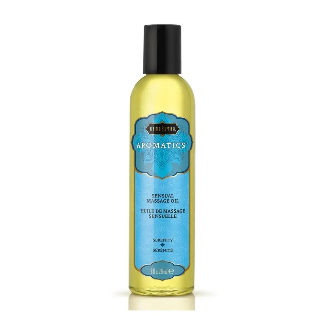 Kama Sutra Aromatic Massage Oil 8oz Serenity