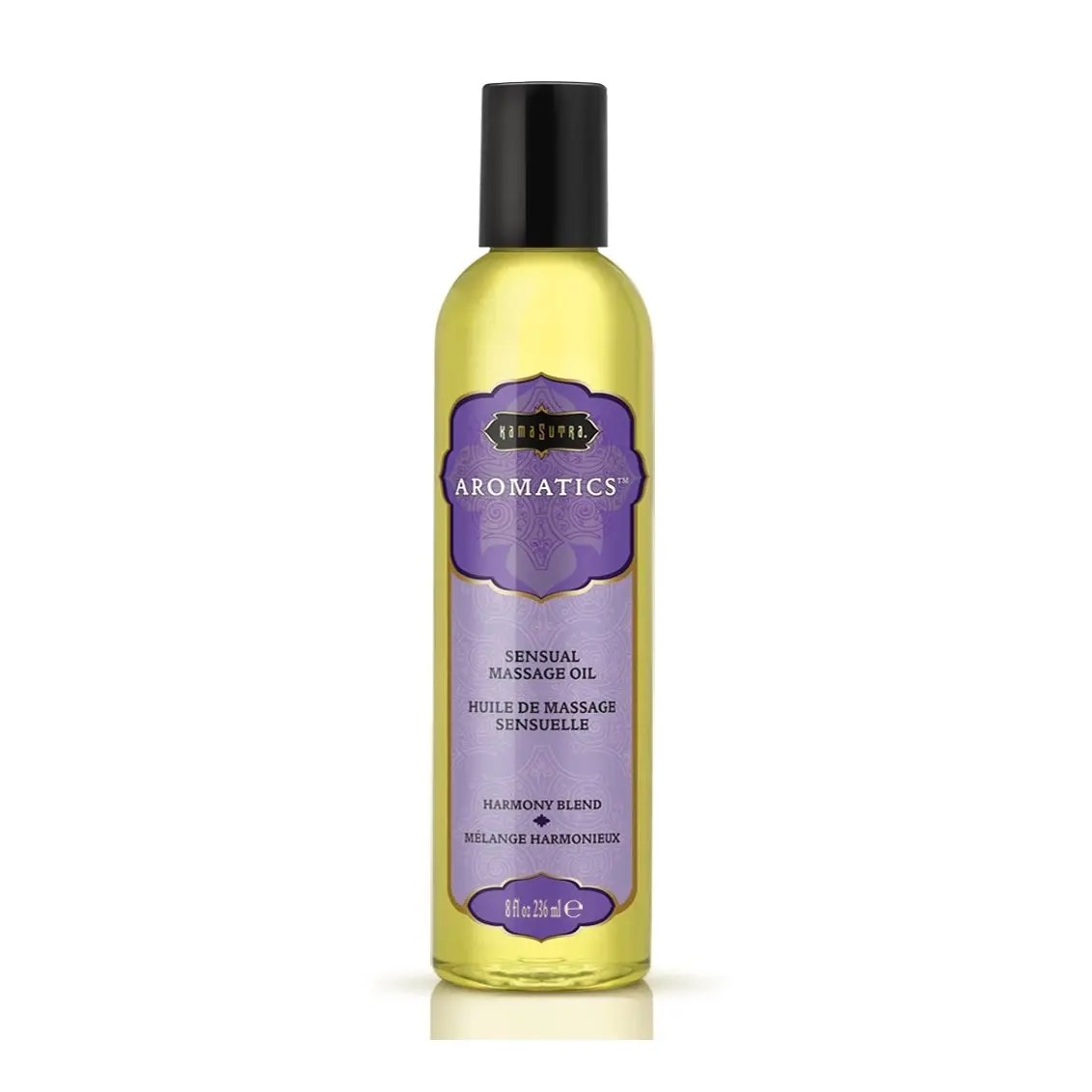 Kama Sutra Aromatic Massage Oil 8oz Harmony Blend
