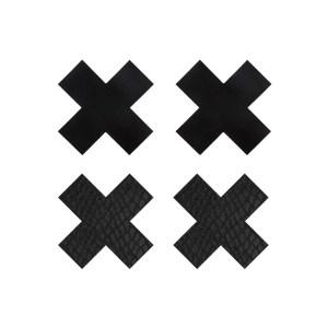 Classic Black XX Premium Pasties by Peekaboos