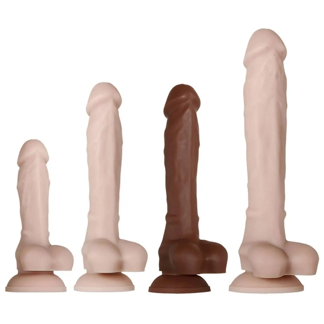 Real Supple – Poseable Silicone Dildos