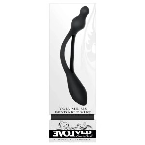You, Me, Us - Bendable Rechargeable Silicone Vibe by Evolved