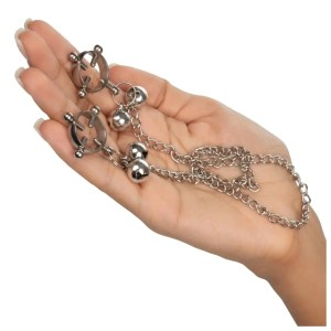 Nipple Grips 4-Point Nipple Press with Bells - by Calexotics