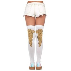 Angel Wing Knee Socks - by Leg Avenue Lingerie