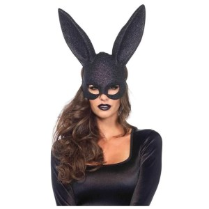 Glitter Masquerade Bunny Rabbit Mask - by Leg Avenue